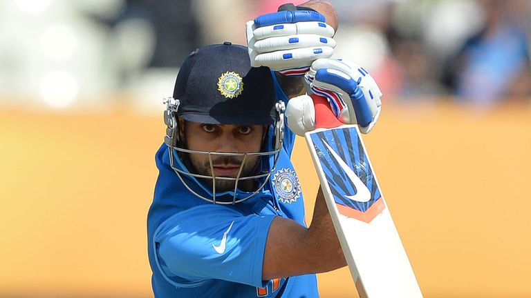 Virat Kohli: has scored 4,054 runs for India in 98 one-day internationals