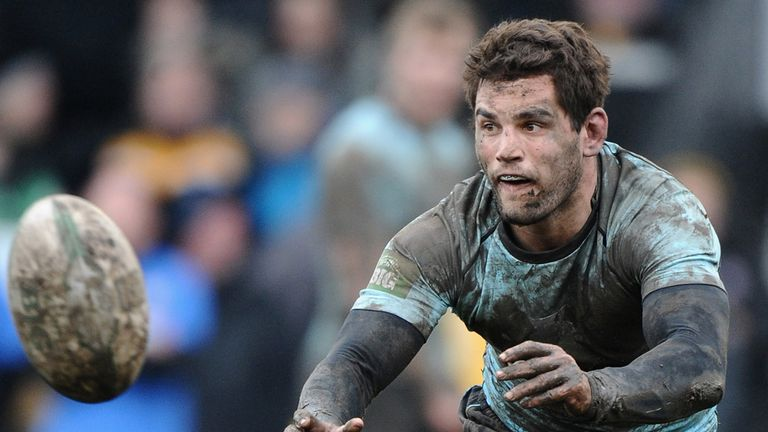 Chad Randall: Ends an eight-year spell at the Twickenham Stoop