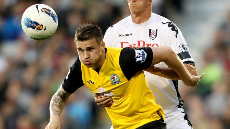 David Goodwillie: Joined Blackburn from Dundee United in the summer of 2012