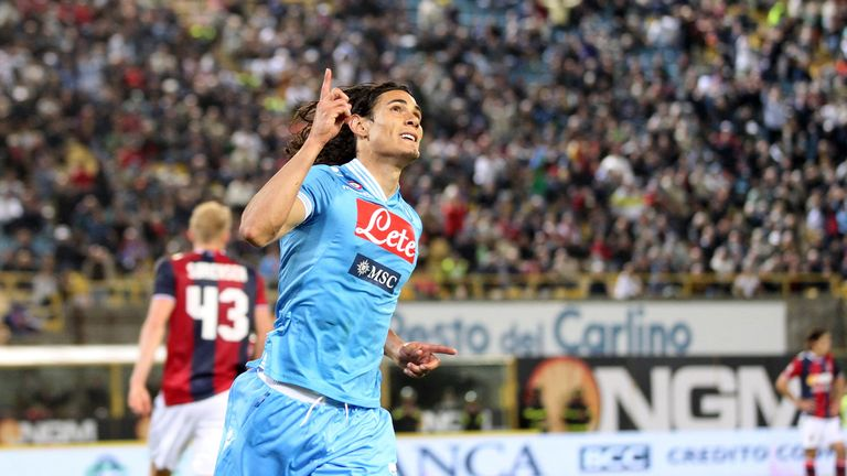 Edinson Cavani: Was on Manchester City's radar during Roberto Mancini's reign