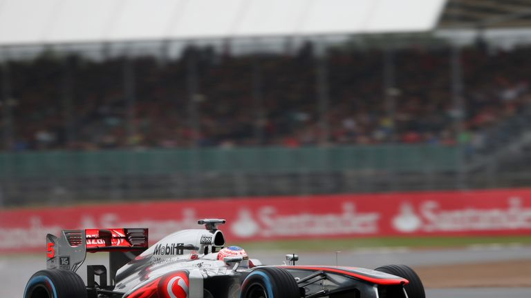 Jenson Button: Experienced another challenging day