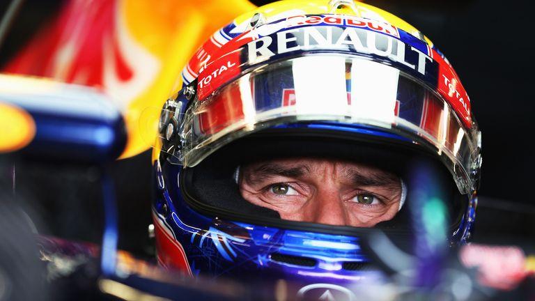 Mark Webber: P3 pacesetter