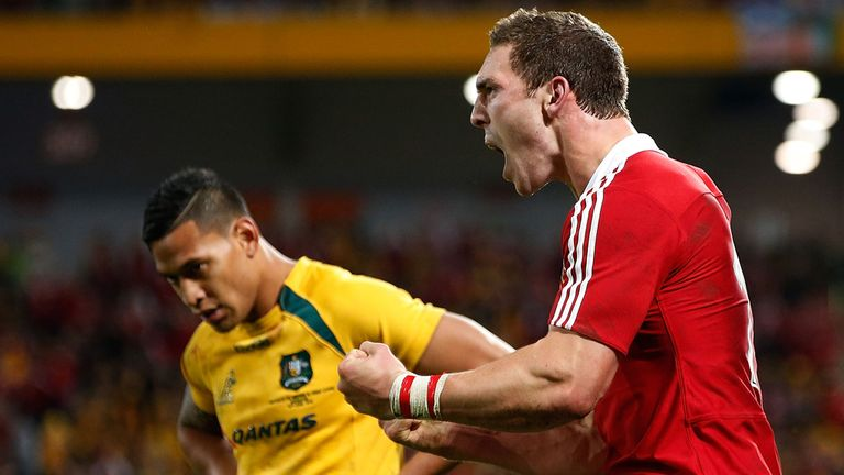 George North: A gem of a try!