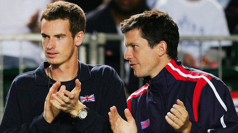 Tim Henman: The former British No 1 feels Andy Murray is in good shape