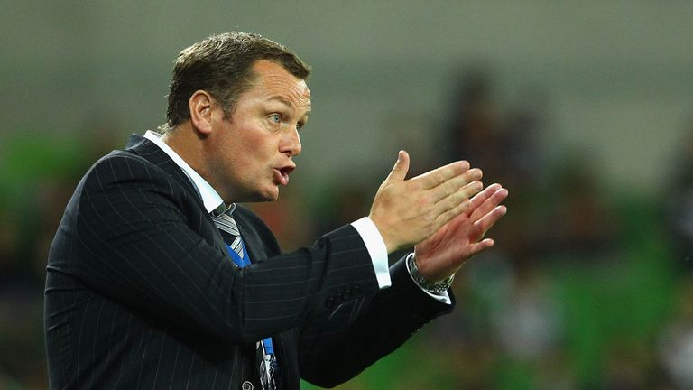 Jim Magilton: Back in football after short stint as manager of Melbourne Victory in Australia
