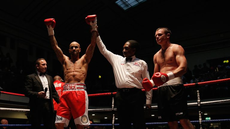 Leon McKenzie satisfied after an entertaining draw with Darren McKenna