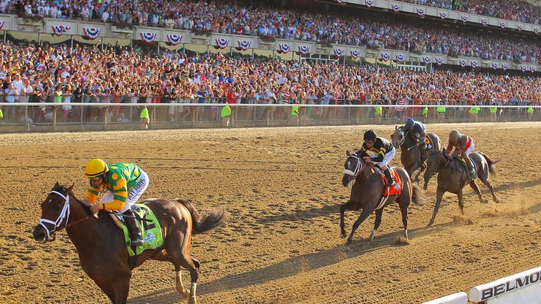 Palace Malice lands the Belmont Stakes