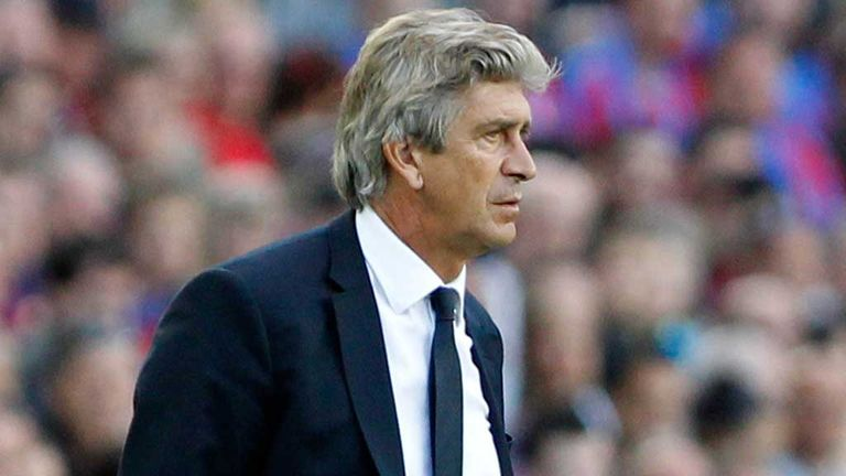 Manuel Pellegrini: New manager of Manchester City on three-year deal