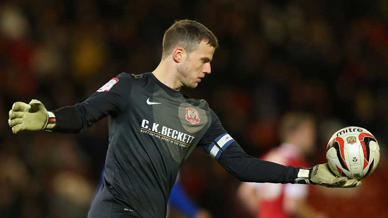 Luke Steele: Barnsley goalkeeper agreed new two-year deal with the club