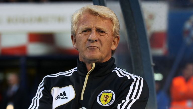 Gordon Strachan: Scotland boss preparing to face Belgium