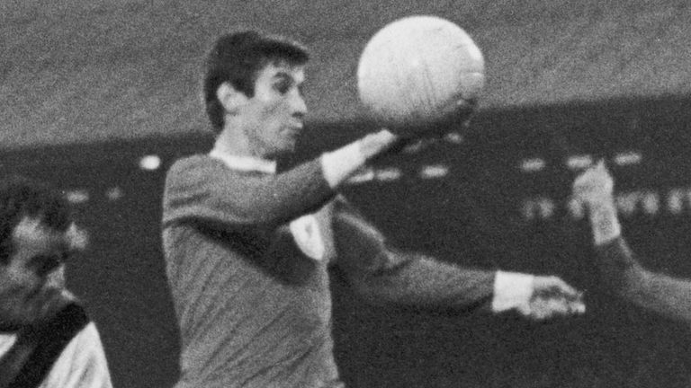 Geoff Strong was a fans' favourite at Liverpool