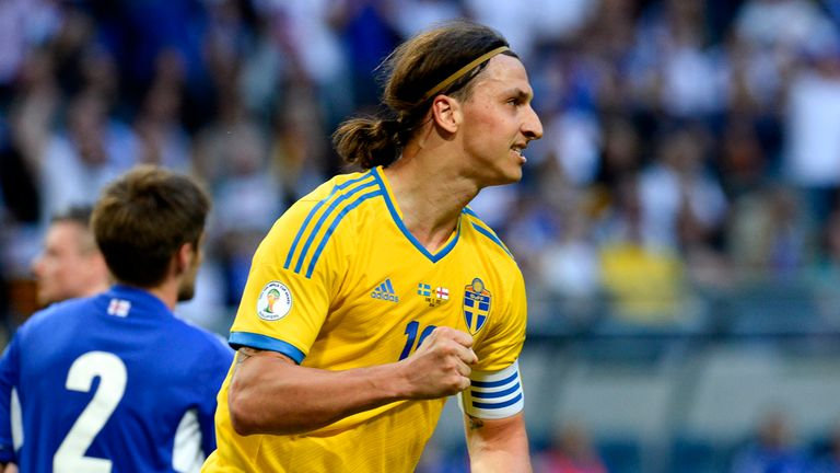 Zlatan Ibrahimovic: Hopes to fire Sweden to next year's World Cup in Brazil