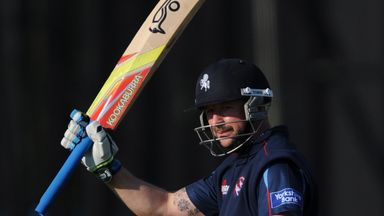 Darren Stevens: Hit the fastest hundred of the county season