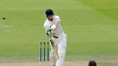 Martin Guptill in action for Derbyshire