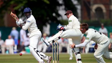 Keith Barker: Warwickshire all-rounder scored his third first-class century