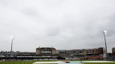 The Oval: Saw just two balls before rain wiped out the second match of the series