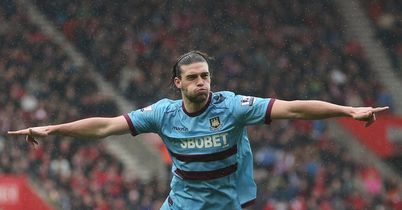 Andy Carroll: West Ham striker has suffered a foot injury