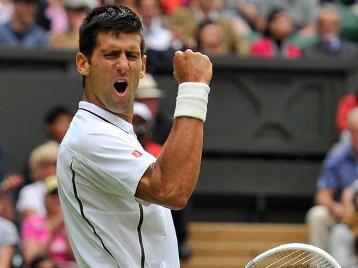 Wimbledon 2013 | Novak Djokovic v Bobby Reynolds June 27
