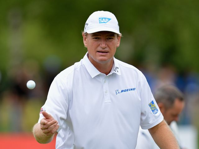 Ernie Els: Claimed a wire-to-wire victory