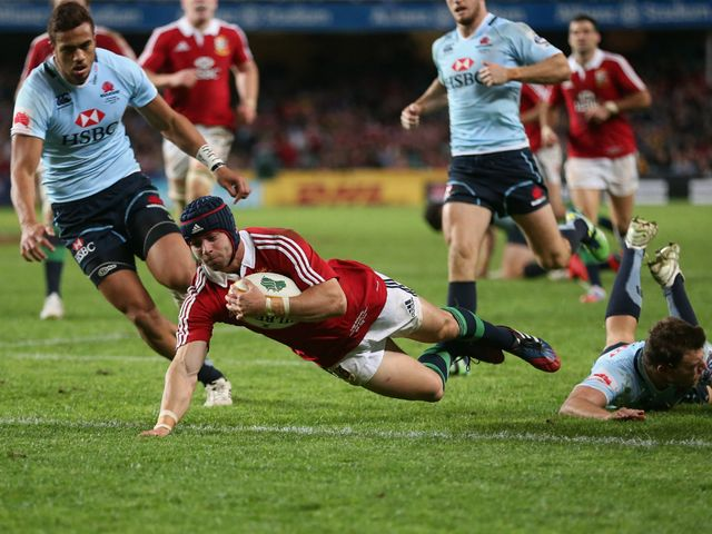 Leigh Halfpenny: Impressive performance for the Lions