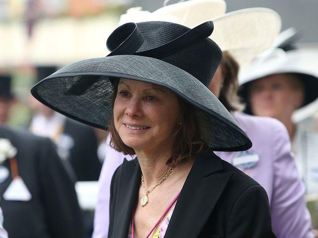 An emotional Lady Jane Cecil