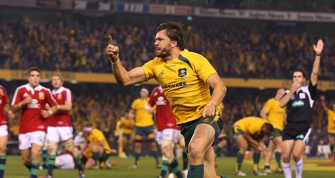 Adam Ashley-Cooper: More to come says Australia centre