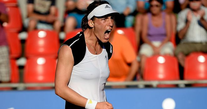 Andrea Petkovic: Beats top seed Jelena Jankovic to reach Nurnberg final