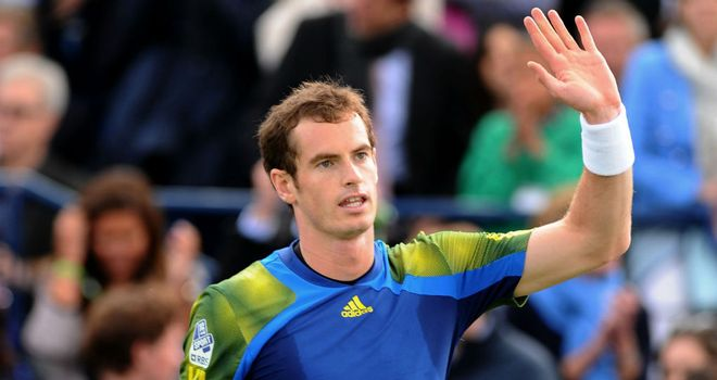 Andy Murray: Buoyed by last year's success on grass