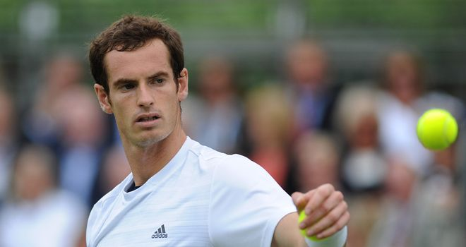 Andy Murray: Is in confident mood heading to Wimbledon