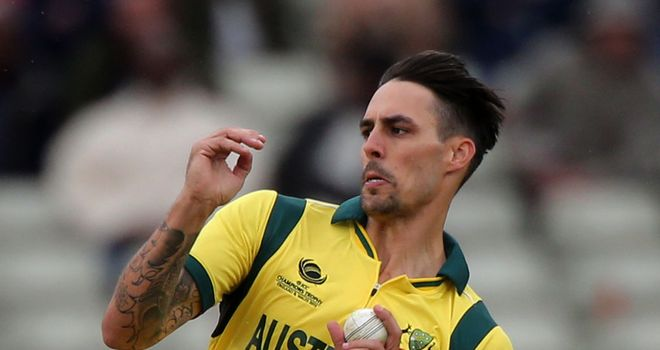 Mitchell Johnson: Looked in good form during Sunday's ODI at Old Trafford
