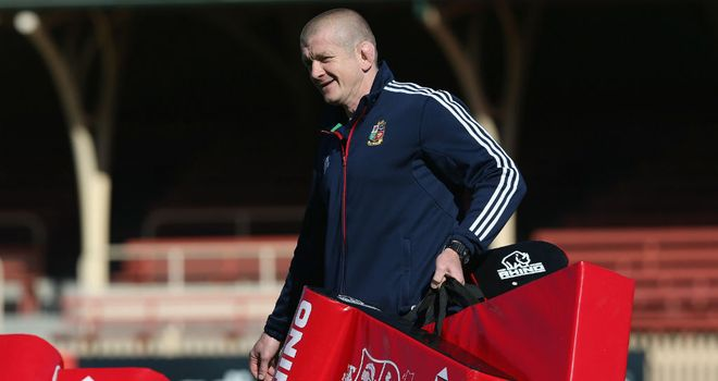 Graham Rowntree: Has been impressed by Sam Warburton
