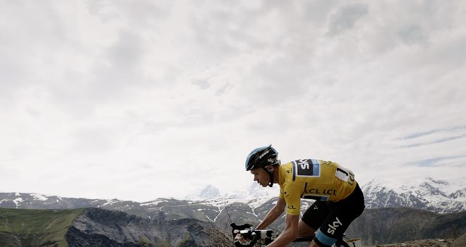 Froome has momentum behind him