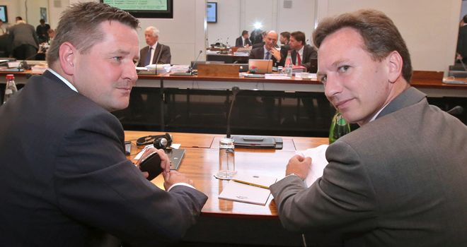 Horner attended the Testgate tribunal which saw Mercedes banned