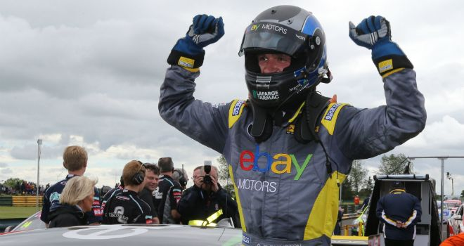 Colin Turkington: Two race wins at Knockhill