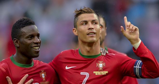 Cristiano Ronaldo: Late equaliser for Portugal