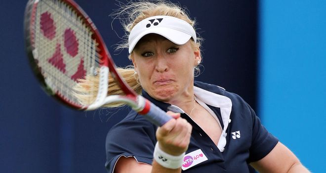 Elena Baltacha: Has slipped to 244th in the world rankings due to injury problems