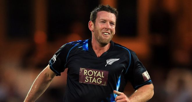Ian Butler: Nottinghamshire sign New Zealand fast bowler for Friends Life t20 campaign