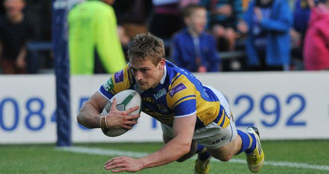 Jimmy Keinhorst: Will play no further part for Leeds Rhinos this season