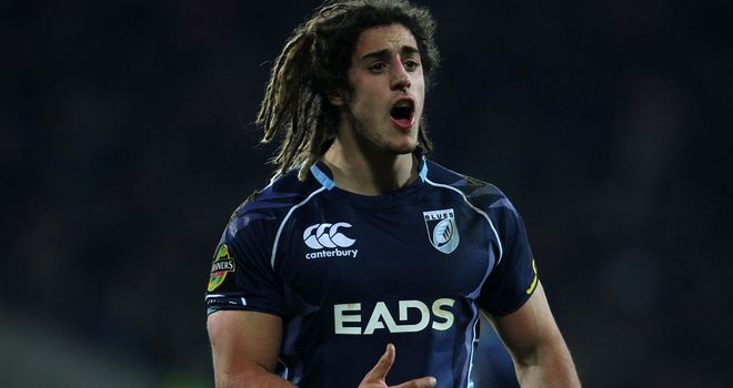 Josh Navidi: In Cardiff colours