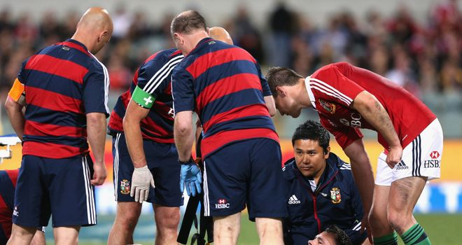 Cian Healy: Has now been ruled out the rest of the Lions tour