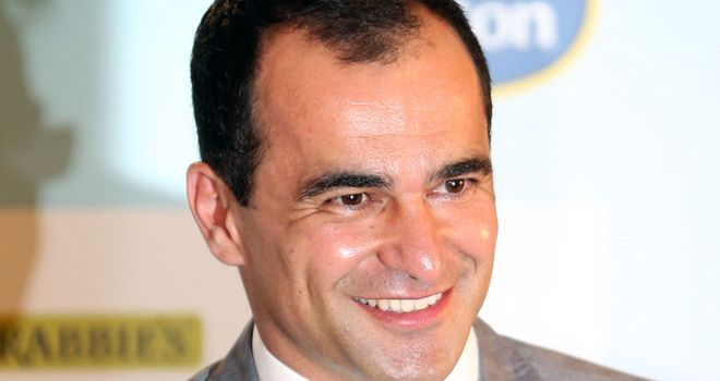 Roberto Martinez: Appointed as Everton boss at the start of June