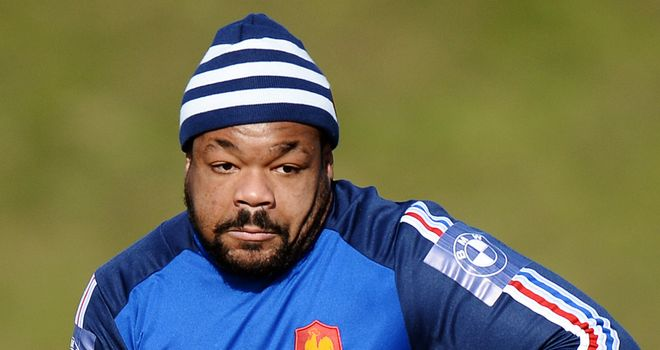 Mathieu Bastareaud: Out to impress against New Zealand