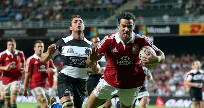 Mike Phillips: Scored two tries