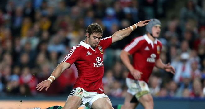 Leigh Halfpenny: Was the star man for the Lions on their tour of Australia this year