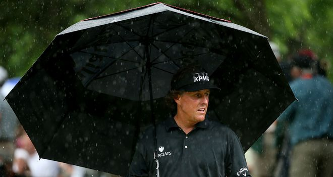 Hopes dampened: Mickelson's US Open charge stalled on the final day
