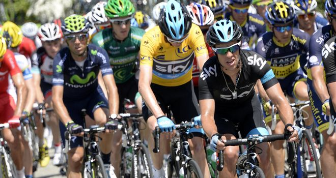 Richie Porte and Chris Froome: Finished well at the Dauphine