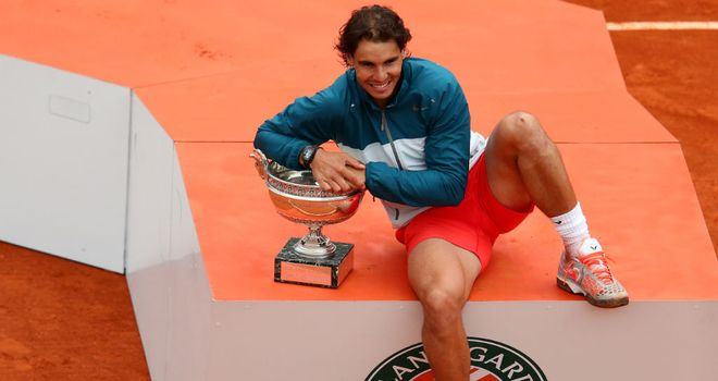 Rafael Nadal: Holder of 12 grand slam titles