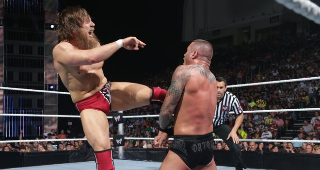 Daniel Bryan: battled Randy Orton on Smackdown
