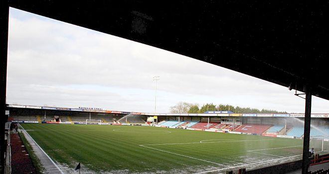 Glanford Park: Home to Scunthorpe United
