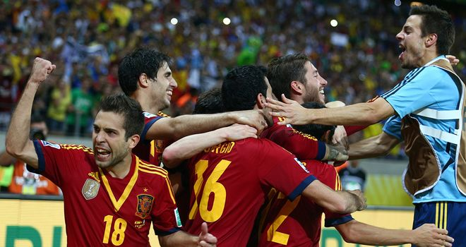 Spain: Will face Brazil in Sunday's final